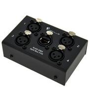 Audio/DMX Verteiler & Adapter via CAT