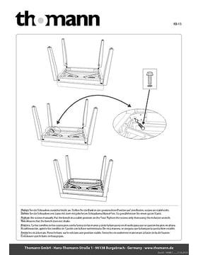 Aufbauanleitung/assembly instructions