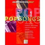Holzschuh Verlag Akkordeon Pur Popsongs 1