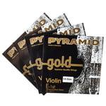 Pyramid Gold Violin Strings 1/4