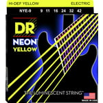 DR Strings DR NEON Hi-Def Yellow - NYE- 9