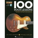 Hal Leonard 100 Rock Lessons Guitar