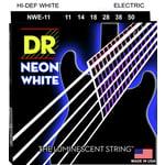 DR Strings HiDef White Neon E 11-50