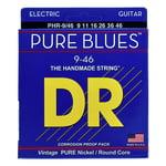 DR Strings Pure Blues Lite & Heavy 9-46