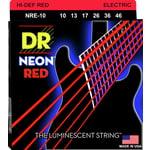 DR Strings HiDef Red Neon Medium 10-46