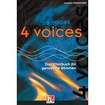 Helbling Verlag 4 Voices Chorbuch