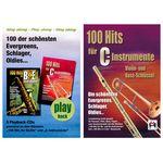 Musikverlag Hildner 100 Hits for C Vol.1 Set
