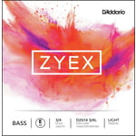 Daddario DZ614-3/4L Zyex Bass E light