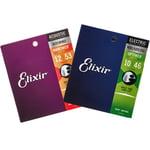 Elixir Acoustic/E-Guitar Bundle