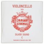 Jargar Silver Cello String C Forte