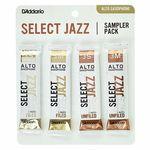 DAddario Woodwinds Select Jazz Alto Sampler Pck 3