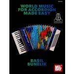 Mel Bay World Music For Accordion