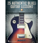 Hal Leonard 25 Authentic Blues Guitar