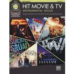 Alfred Music Publishing Hit Movie & TV Solos A-Sax