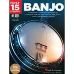 Hal Leonard First 15 Lessons: Banjo