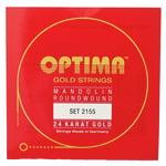 Optima 2155 24K Mandolin Gold Strings