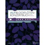 Schott Altblockflöten-Konzertbuch