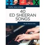 Hal Leonard Ed Sheeran Really Easy Piano