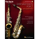 Music Minus One Easy Jazz Duets Alto-Sax