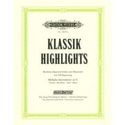Edition Peters Klassik-Highlights Vol.1
