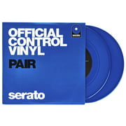 "Serato 7"" Control Vinyl blue"