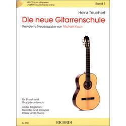 Die neue Gitarrenschule Bd. 1 Ricordi
