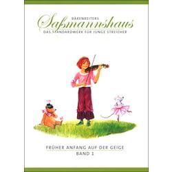 Sassmannshaus Anfang Geige 1 Bärenreiter