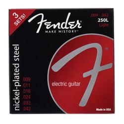250L-3-packs Guitar Strings Fender