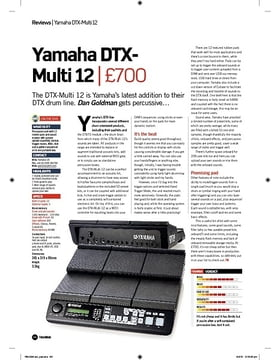 Yamaha DTXMulti 12
