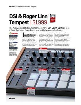 DSI and Roger Linn Tempest