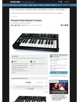 Novation Bass Station II