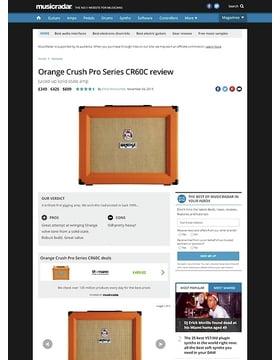 Orange Crush Pro Series CR60C