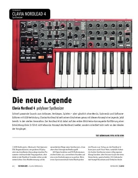 Clavia Nordlead 4 - polyfoner Synthesizer