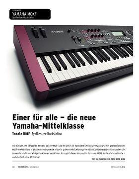Yamaha MOXF - Synthesizer-Workstation