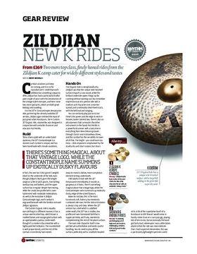 Zildjian K Rides