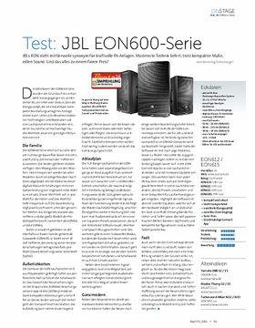 JBL EON600-Serie