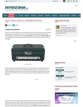 Test: Koch JUP45-H, Gitarrentopteil
