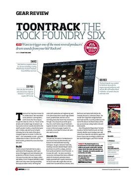 Toontrack The Rock Foundry SDX