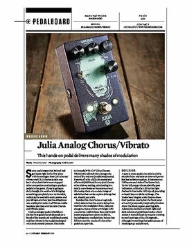 Julia Analog Chorus/Vibrato
