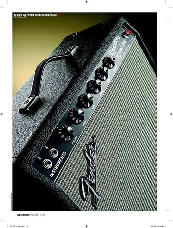 Guitarist Fender 65  Princeton  Reverb Reissue