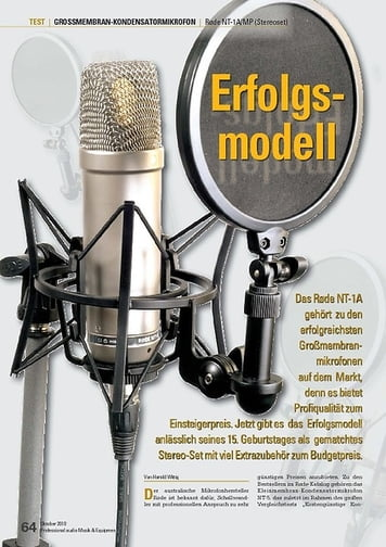 Professional Audio Røde NT-1A/MP (Stereoset)
