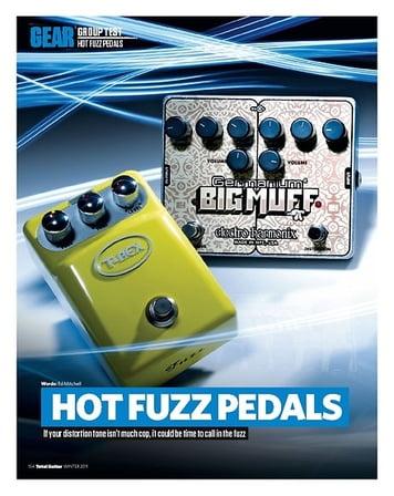 Total Guitar DUNLOP JDF2 FUZZ FACE