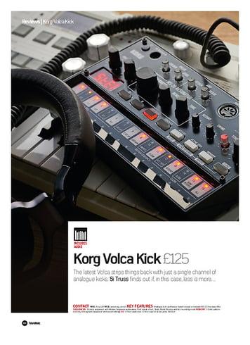 Future Music Korg Volca Kick