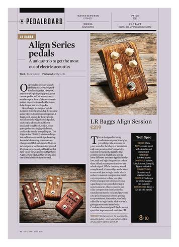 Guitarist LR Baggs Align Reverb