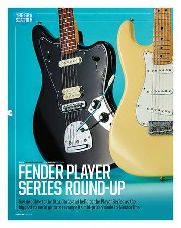Total Guitar Fender Player Stratocaster