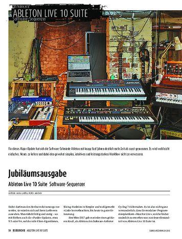 Sound & Recording Ableton Live 10 Suite