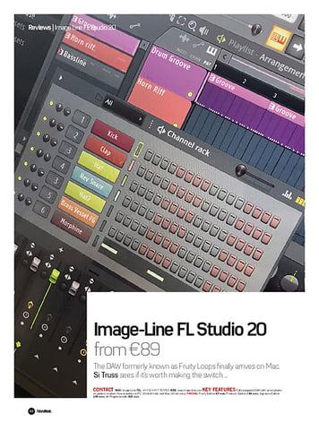 Future Music Image-Line FL Studio 20
