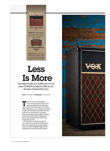 Guitarist VOX mini superbeetle 25 stack