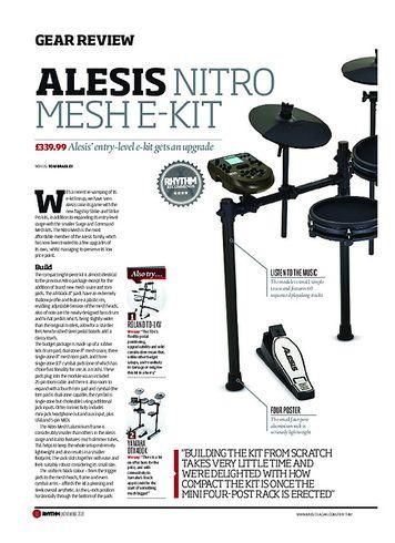 Rhythm Alesis Nitro Mesh E-Kit