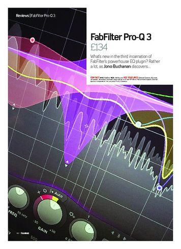 Future Music FabFilter Pro-Q 3